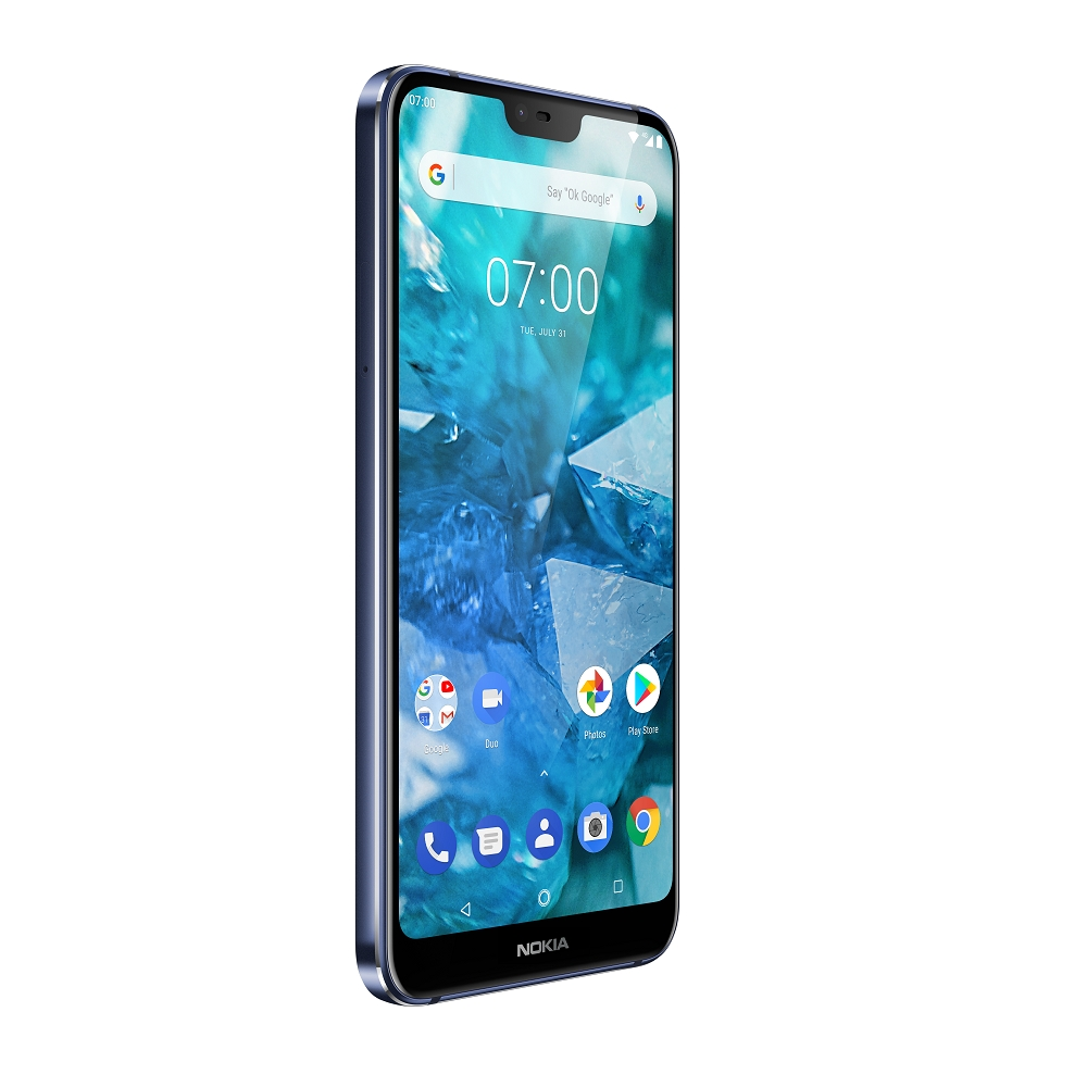 HMD Global Nokia 7.1 Midnight Blue Right s