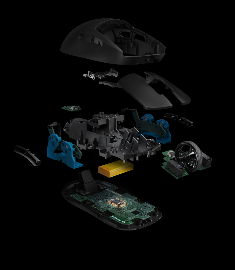 High Resolution PNG PRO Wireless Exploded View
