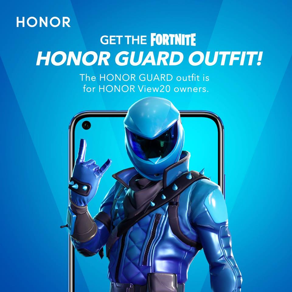 HONOR Guard outfit