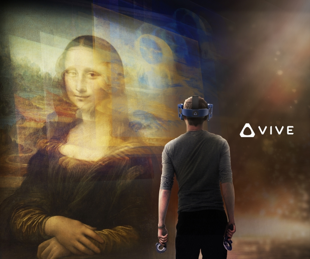 Still from Mona Lisa Beyond the Glass Courtesy Emissive and HTC Vive Arts 5
