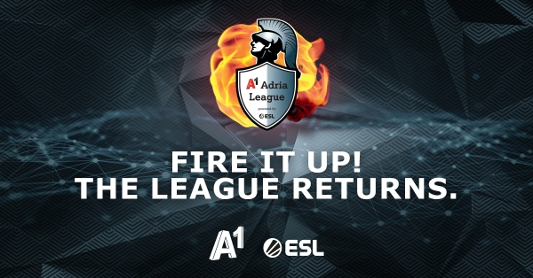 A1 Adria League powered by ESL donosi još bolje iskustvo esporta i veći nagradni fond