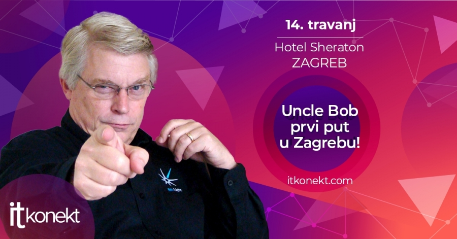 Uncle Bob prvi put u Zagrebu!